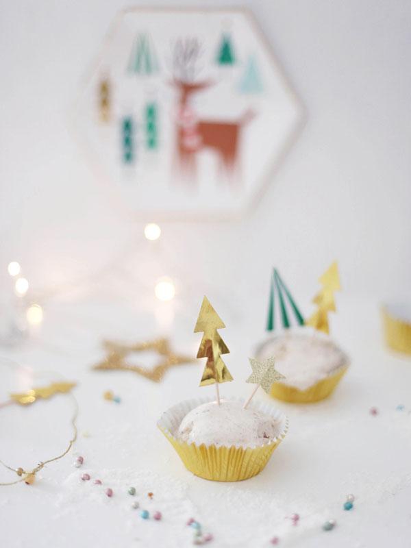 Decoração natalina toppers de doces
