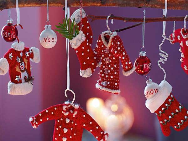Decoração natalina para sala
