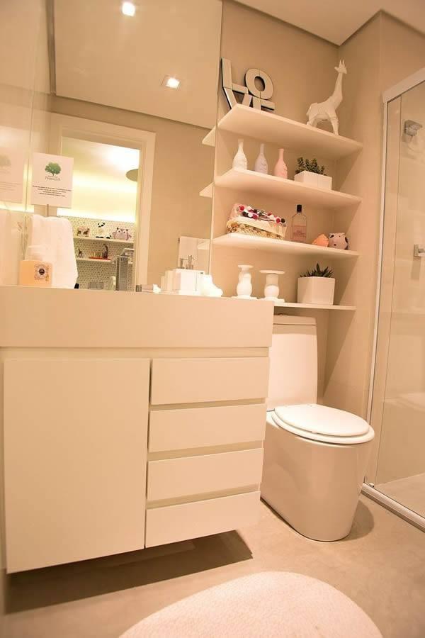 banheiro decorado planejado