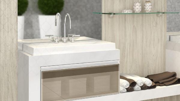 banheiro moderno projeto