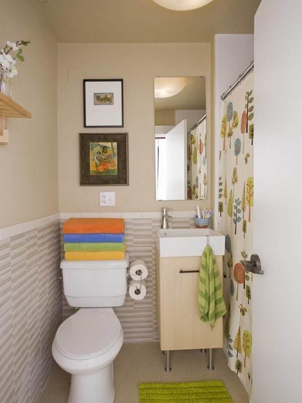 banheiro pequeno de apartamento