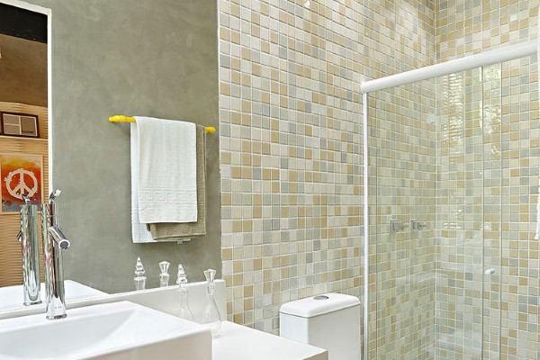 banheiros decorados com pastihas