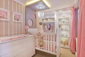 quarto de bebê feminino luxo