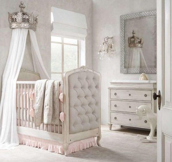 quarto de bebe tema princesa