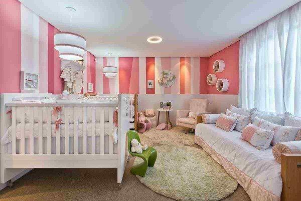 quarto feminino luxo bebê