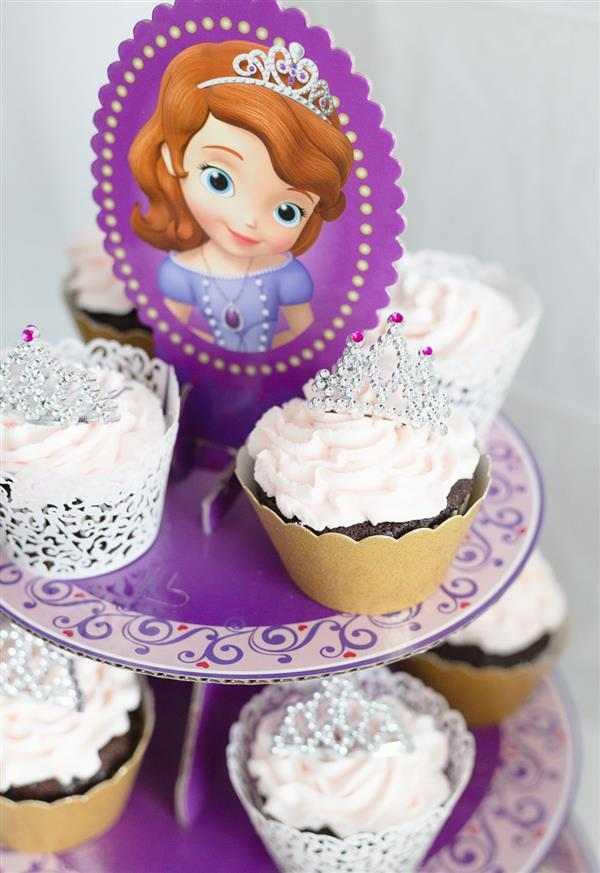 doces decorados princesa sofia
