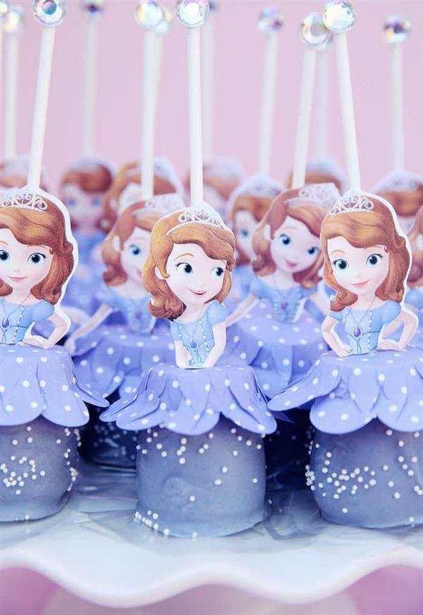 enfeites festa princesa sofia