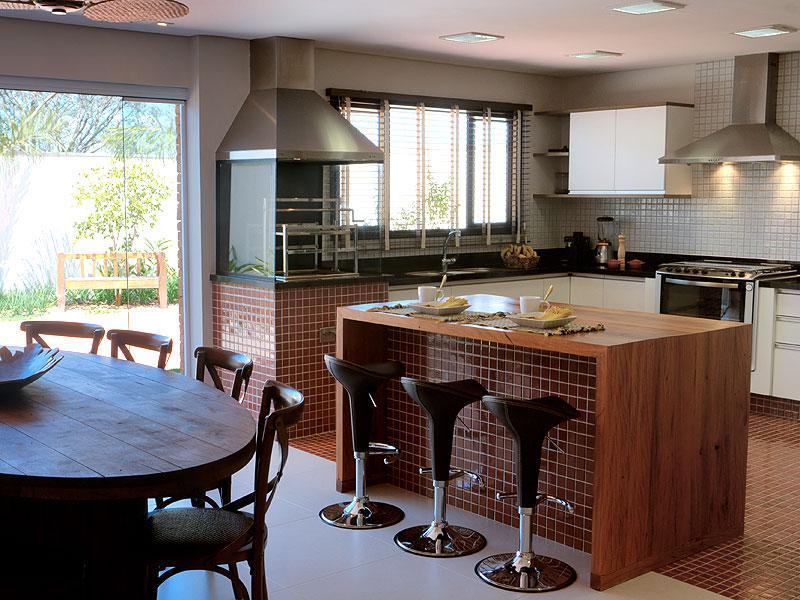 espaço gourmet simples e aconchegante