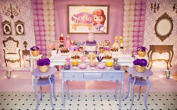 festa infantil tema princesa sofia