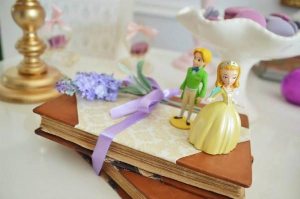 decoração da princesa sofia