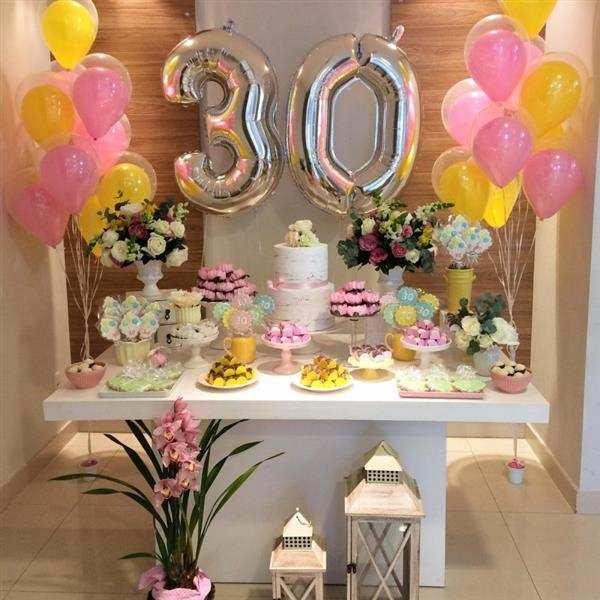 decoração de mesa de aniversario