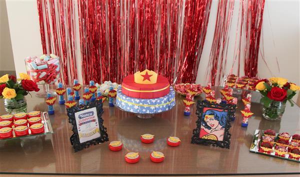 fotos de decoração de aniversario simples