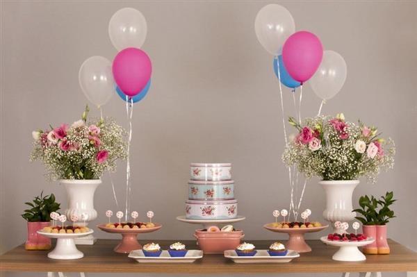 decoração de aniversario simples feminino