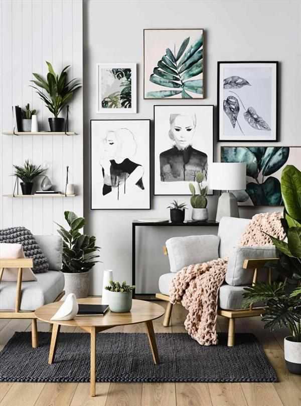 salas decoradas com poltronas