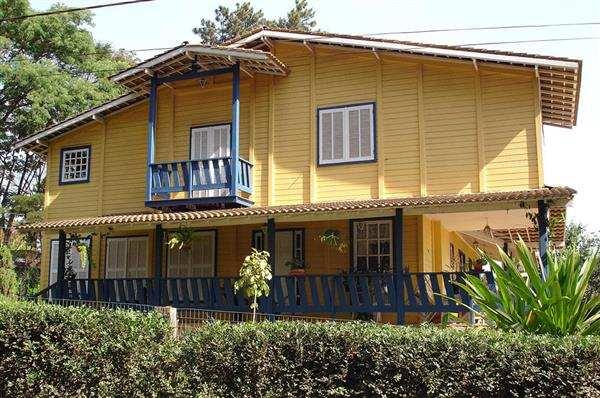 casas modernas de madeira