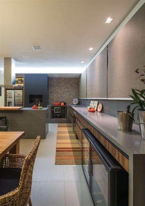 cozinha retangular