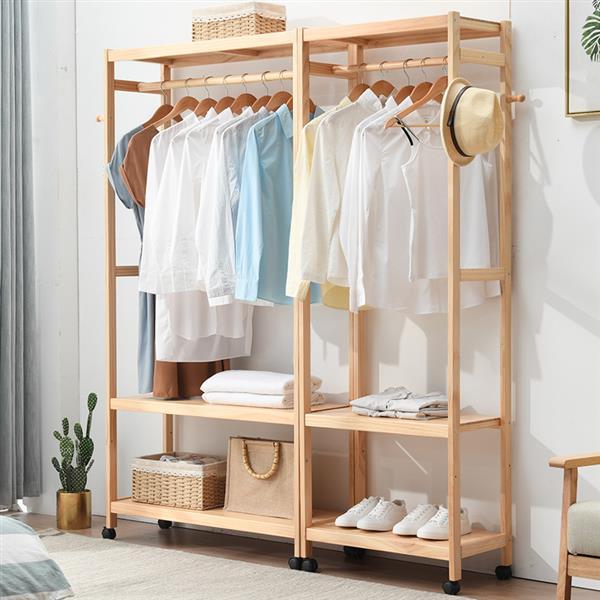 closet pequeno de madeira