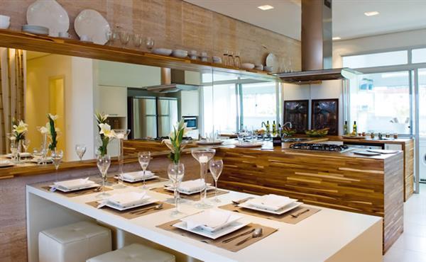 projetos de cozinha gourmet
