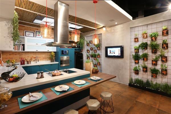 cozinha gourmet espaçosa