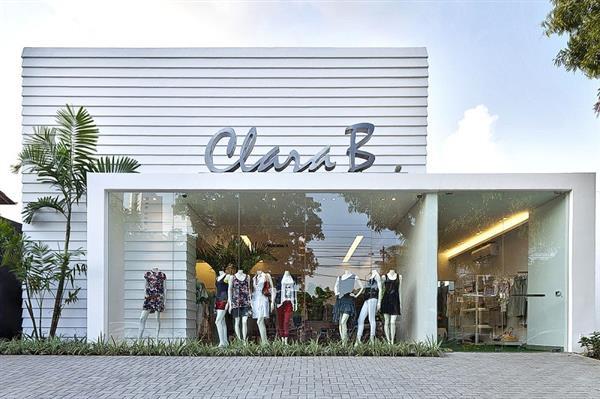 fachadas de lojas de roupas