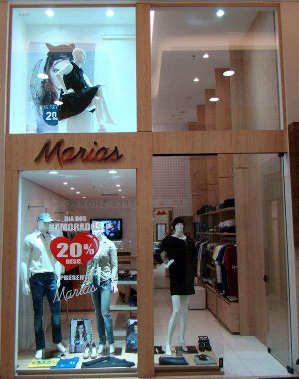 fachadas de lojas de roupas modernas