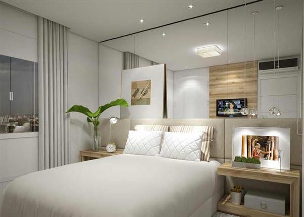 quarto de casal simples