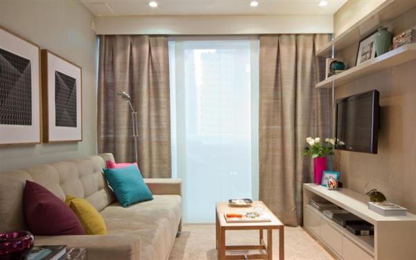 fotos de apartamento pequeno decorado