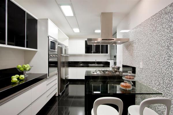 cozinha e branco