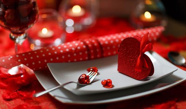 decoração dia dos namorados com velas