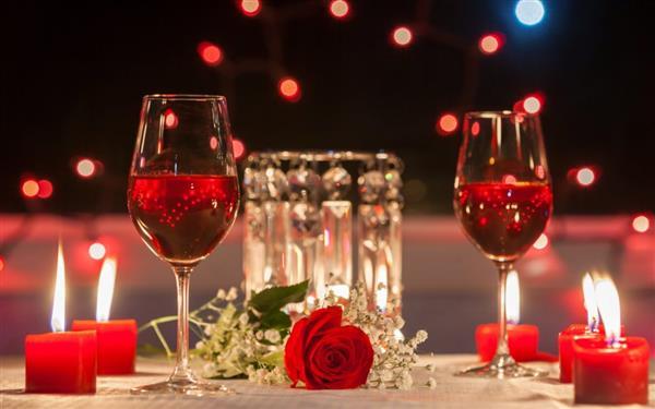jantar romântico para o dia dos namorados