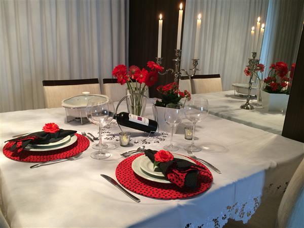 mesa de jantar para dois