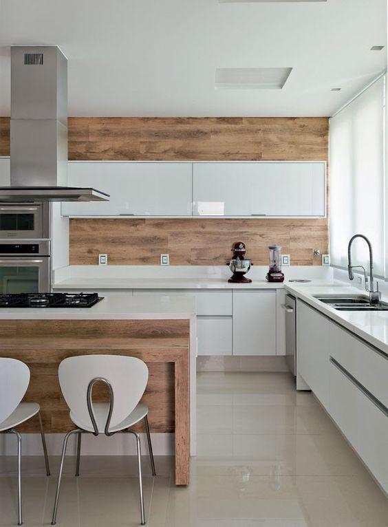 pia de cozinha moderna