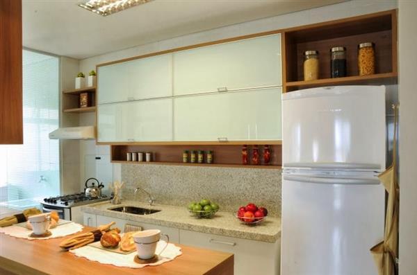 balcão de cozinha bem simples