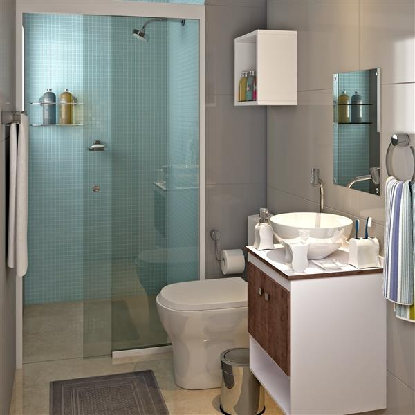 banheiro simples pequeno