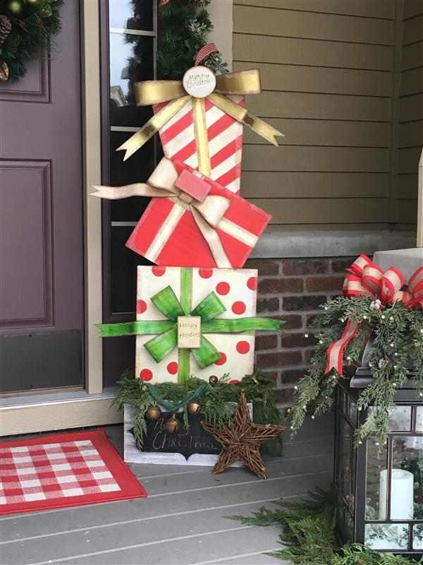 ideias para decoração de natal barata