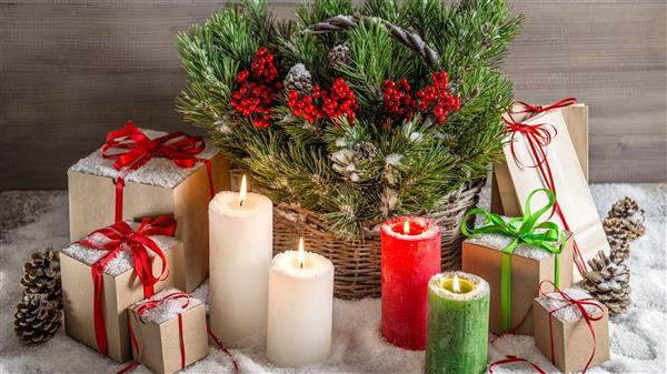 tendencias de decoração de Natal 2020