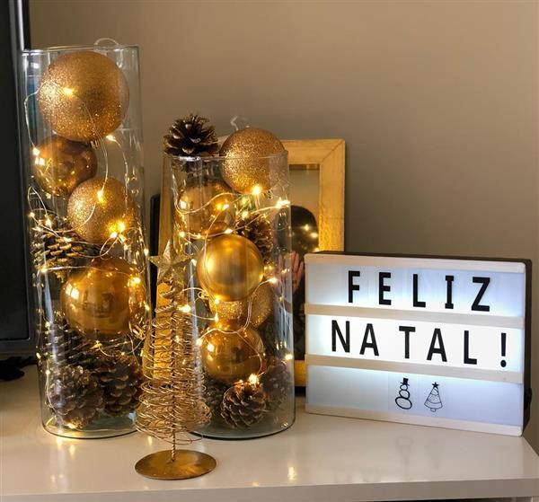 dicas de decoração de Natal 2020