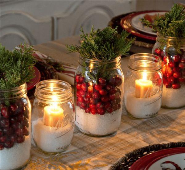 decoracao-mesa-de-natal-velas