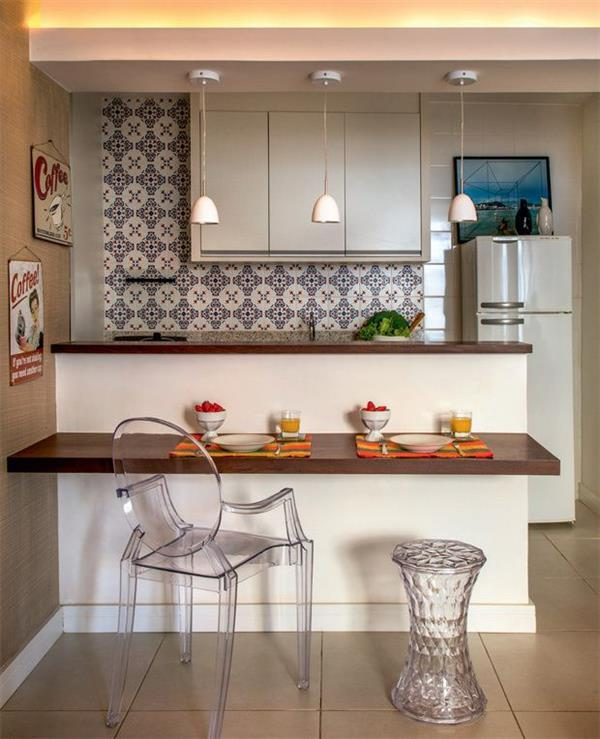 cozinha compacta com bancada