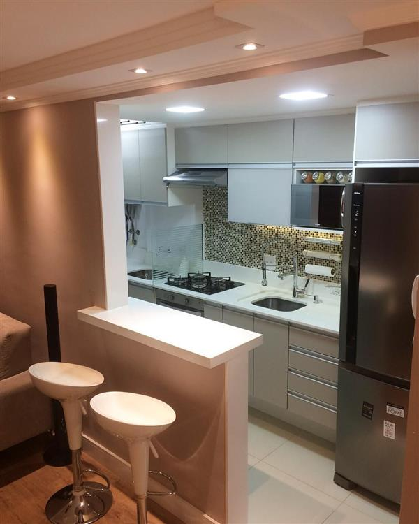 detalhes cozinha compacta