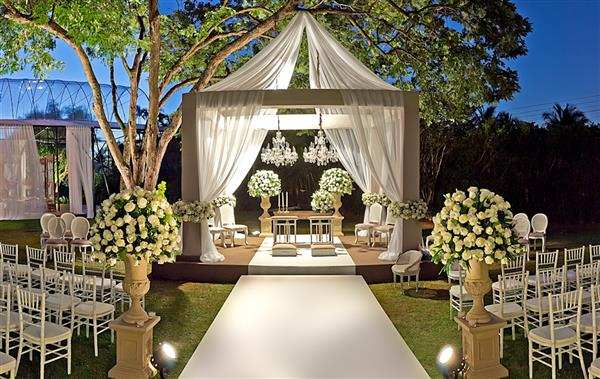 decoração de casamento luxo