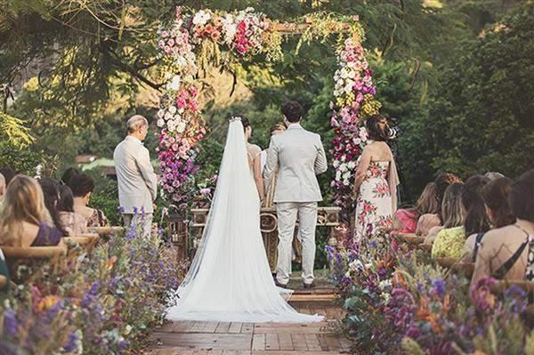 tendencias de decoração de casamento 2020