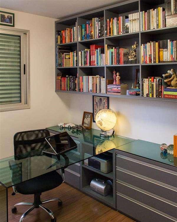 estante de escritorio