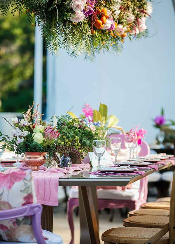 mesa de casamento decorada