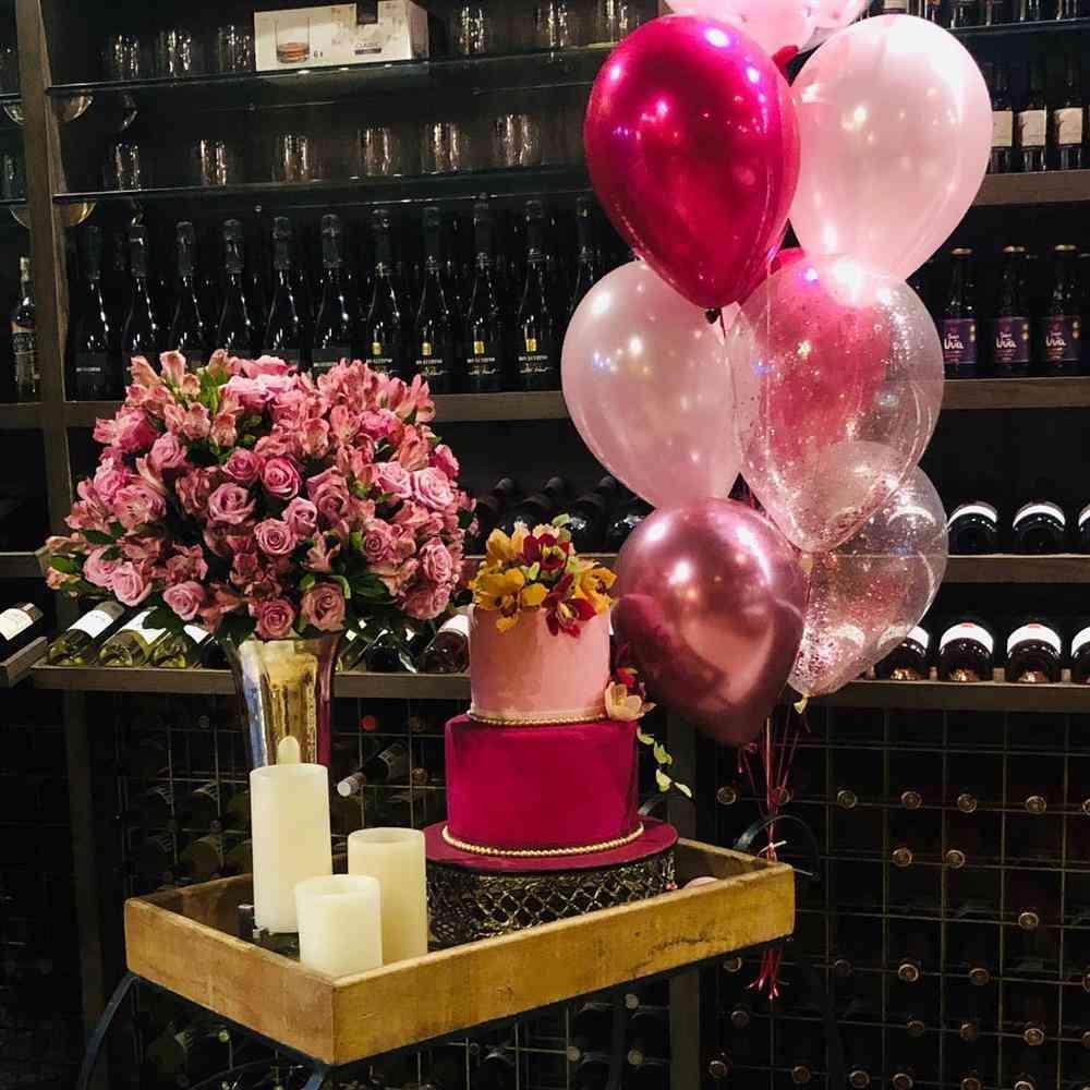 festa surpresa para namorada