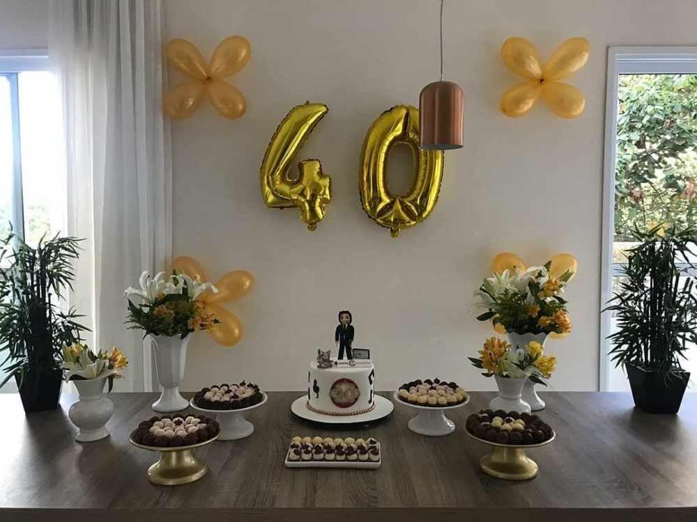 festa para marido