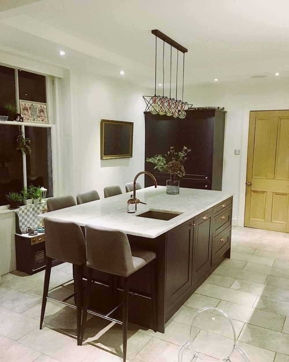 cozinha com ilha simples