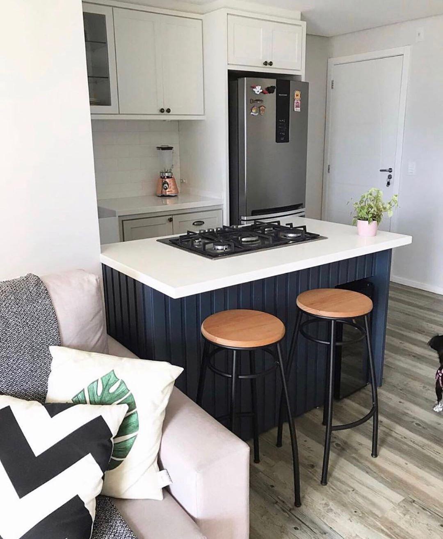 ilha de cozinha simples