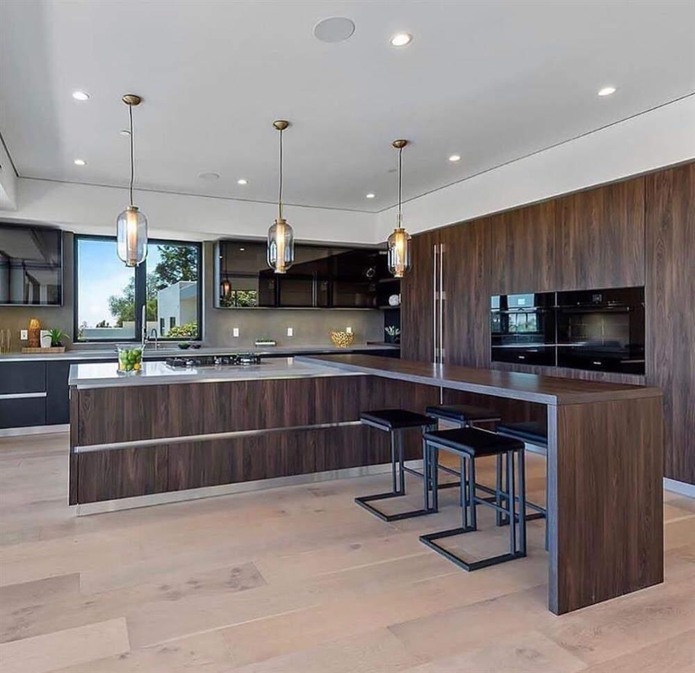 designer de cozinha em madeira