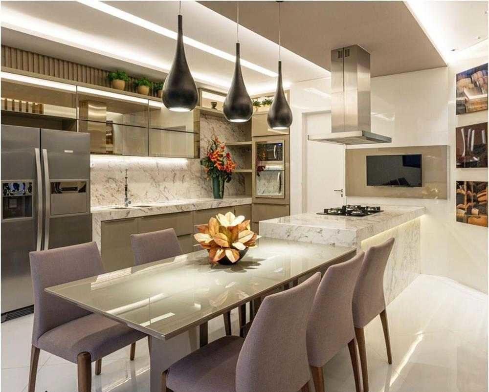 cozinha moderna e integrada